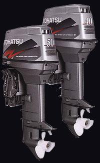 лодочные моторы Tohatsu 70, 90