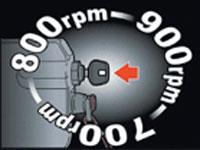 Tohatsu система контроля скорости вращения на холостом ходу