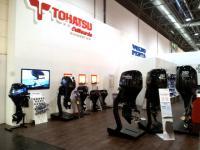 Новые четырехтактные моторы Tohatsu 25 и 30 л.с. - MFS25/30
