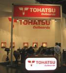 Экспозиция Tohatsu на Дюссельдорф бот-шоу 2011